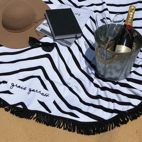 Hemera Black + White Beach Towel - Summer 2018/19