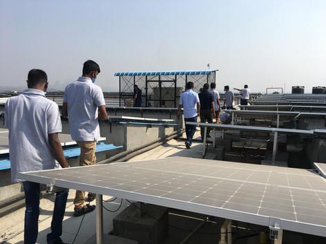 Solar Panels - Live Demonstration