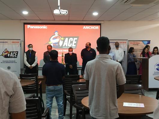ACE training - Inauguration