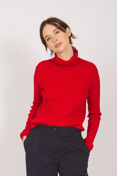 Skinny ribbed sweater