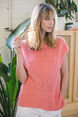 sweater SG17114 in watermelon