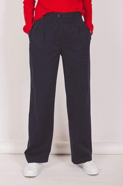 Menswear twill pants