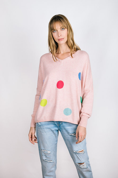 Dots Boyfriend Sweater