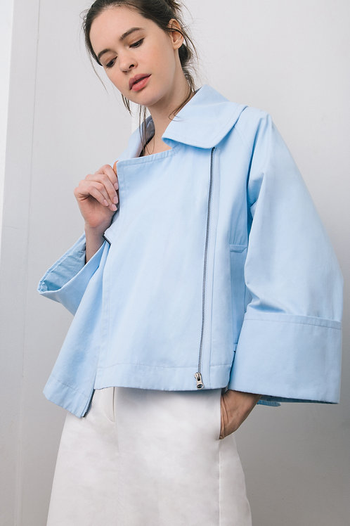 The loose little crop jacket