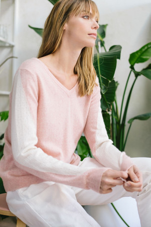 sweater SG18114 in blush