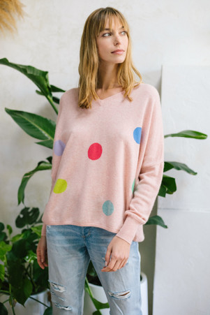 sweater SG18120 in blush