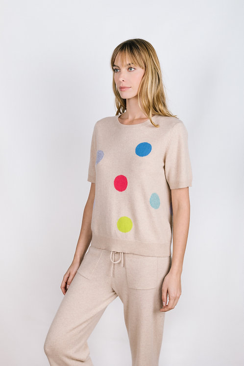 Dots Graphic Tee