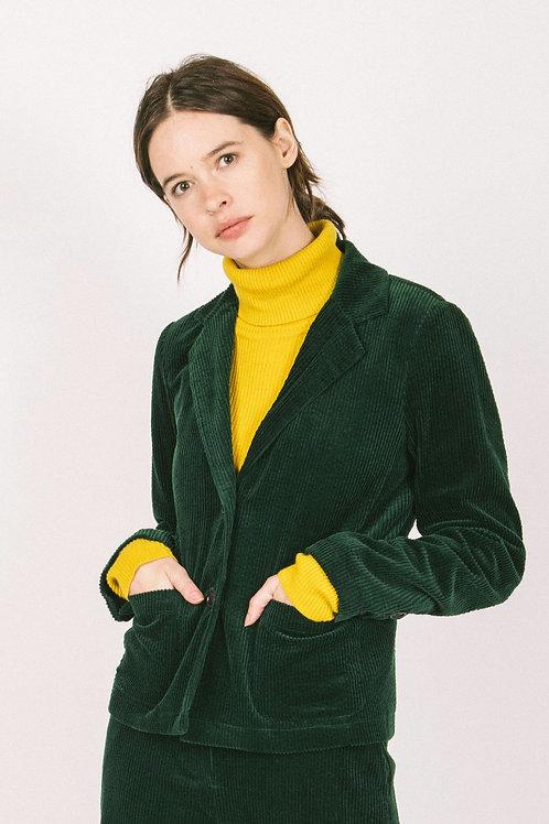 Corduroy school blazer