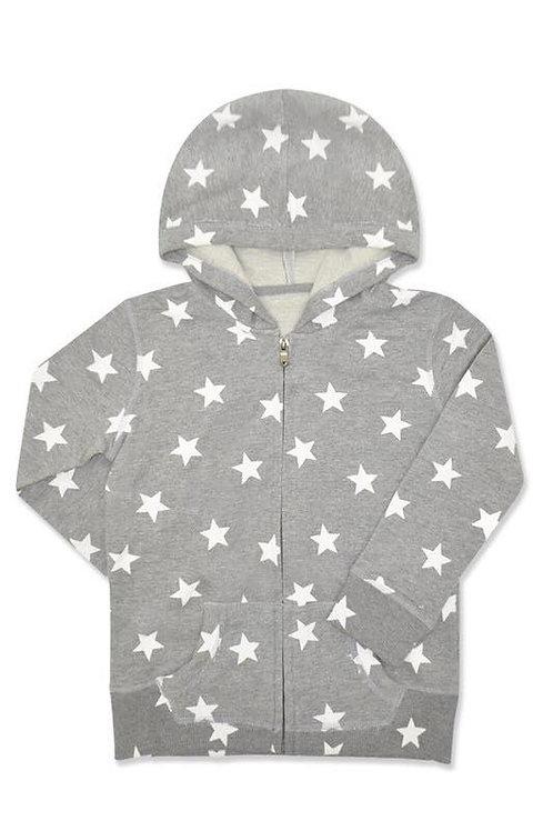 Kids Star Zip-up Sweatshirt