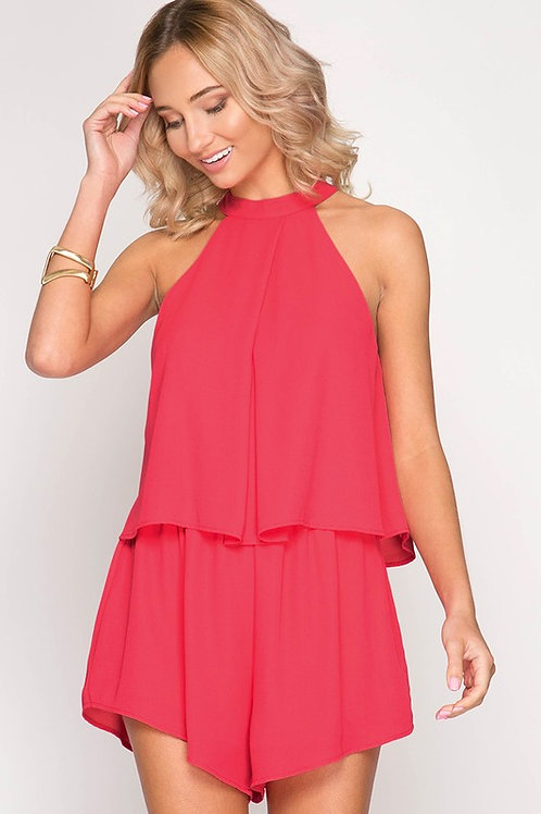 Sleeveless Must Have Pink Romper