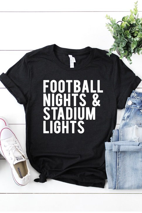 Football Nights & Stadium Lights Tee