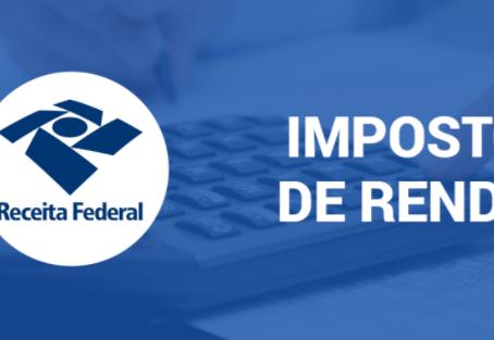IMPOSTO DE RENDA DA PESSOA FÍSICA: Prorrogação da entrega da declaração para 30 de junho de 2020.