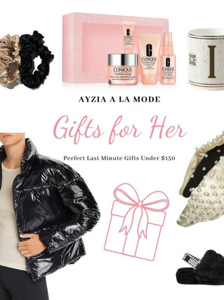 Last Minute Gifts for Her Under $150!