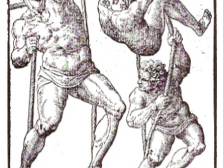 Ancient Greek and Roman Rope-Walkers | The History of Slack