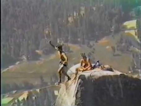Lost Arrow Spire Crossing '85 | The History of Slack