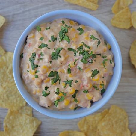 skinny slow cooker corn dip