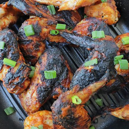 MustKetch Grilled chICKEN WINGS