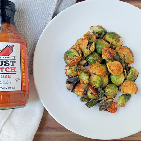 Mustketch brussel sprouts