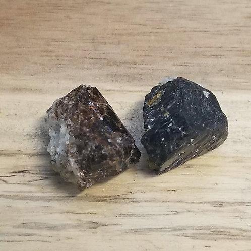 Tourmaline noire crystalisé