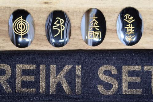 Usui Reiki - Pierres des 4 symboles de guérison
