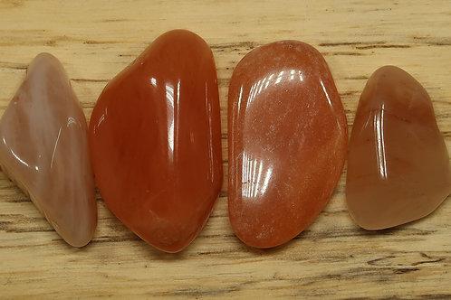 Red chinese quartz