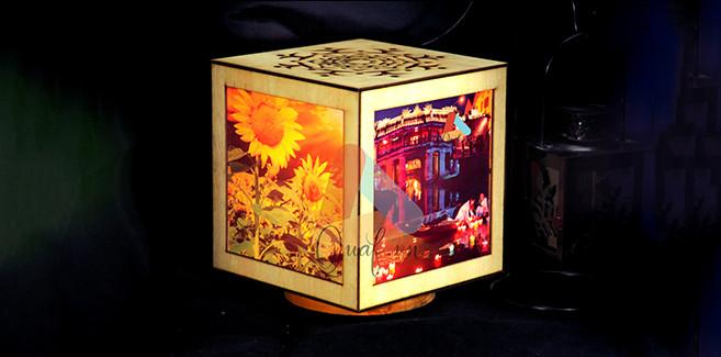 tặng đèn tranh gỗ, sinh nhật ý nghĩa cho mẹ