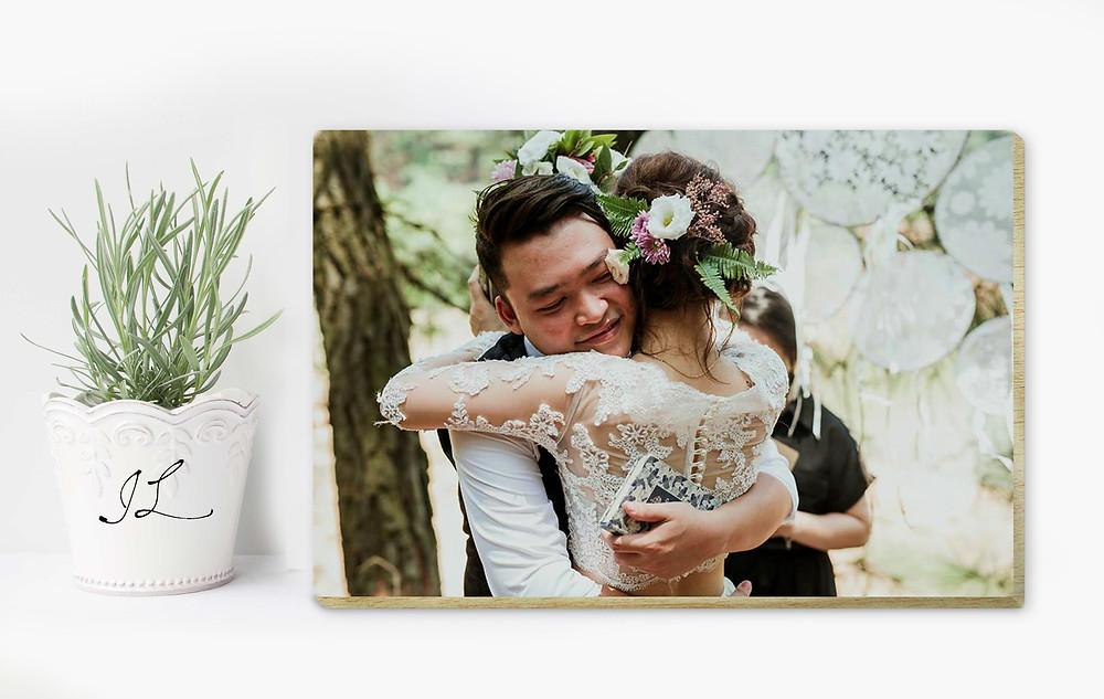 khung ảnh gỗ quà tặng bạn kỷ niệm ngày cưới
