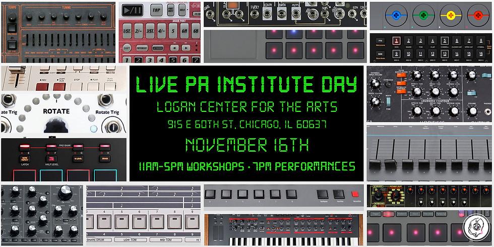 Live PA Institute Day