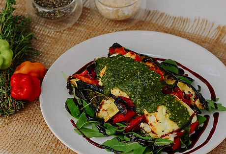 Gluten-Free Grilled Vegetable Stack