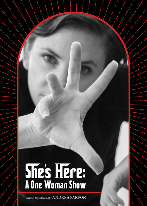"""Andrea Parson's """"She's Here"""""""
