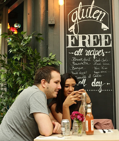 Gluten-Free restaurant in Brixton Village Market serving lunch, brunch and dinner