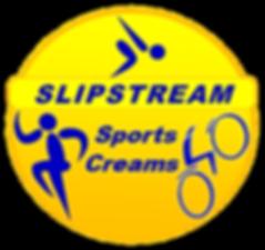 Slipstream Sports Cream Logo