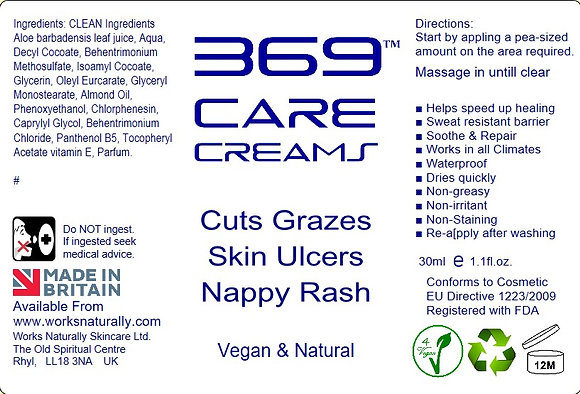 369 Cuts, Grazes & Nappy Rash
