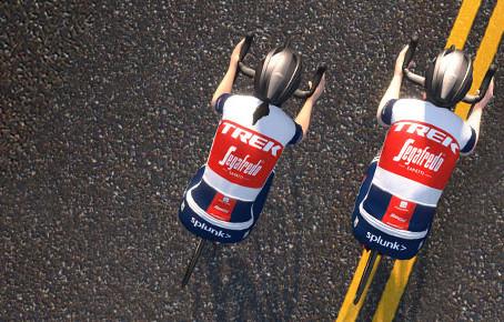 TREK-Segafredoのチームメンバーと一緒に走れるイベント「TREK-Segafredo×SARIS Ride」が3月29(日)と3月30日(月)の2回、Zwiftで開催決定!