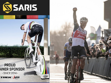 SARISがTREK-Segafredoチームへのサポート継続が決定!