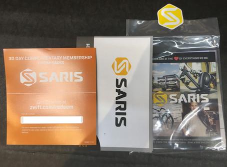SARIS H3にZwiftの30日間無料体験コードが同封されるようになりました。