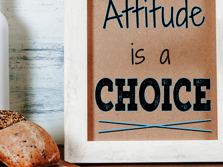 Attitude Is A Choice – The Three Perspectives