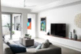 Sydney modern living room