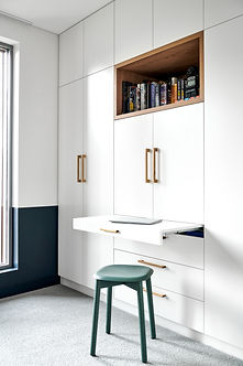 bespoke joinery, bedroom wardrobe, laptop desk, bookshelf, teenage room