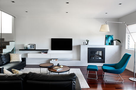 Abbotsford living room interior