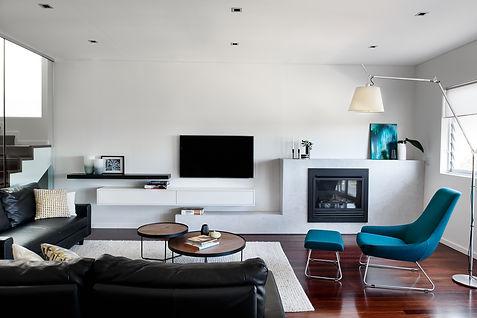 Abbotsford living room interior
