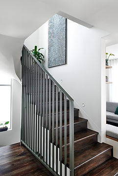 custom balustrade, modern living, compact spaces