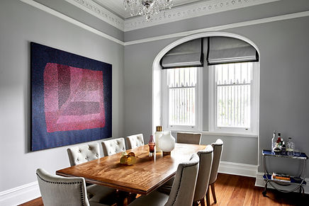 Sydney terrace, formal dining room
