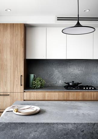 Modern, urban luxe kitchen, Petersham