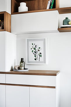 custom joinery, living room cabinets