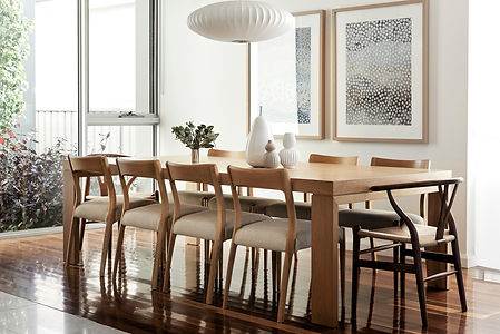 dining table, wishbone chair, Zuster, Designer Boys