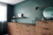 custom cabinetry, master suite, bedroom storage