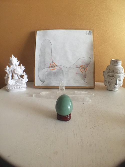 Green Aventurine Yoni Egg