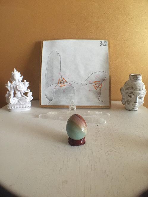 Amazonite Yoni Egg