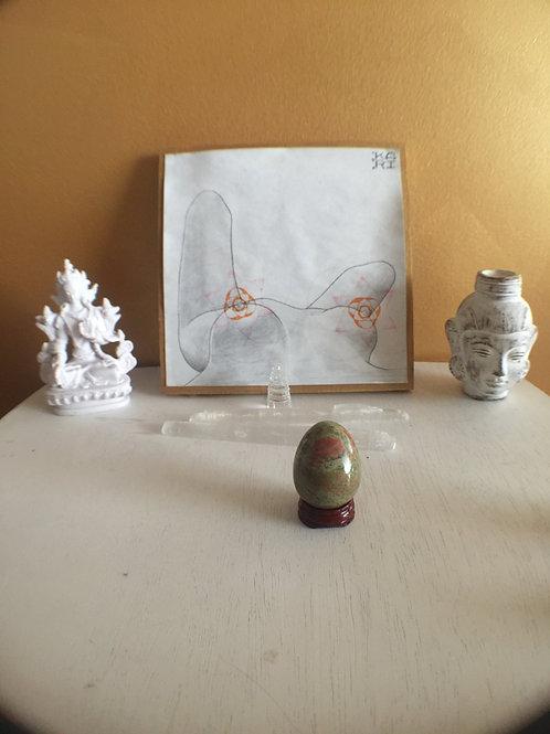 Unakite Yoni Egg